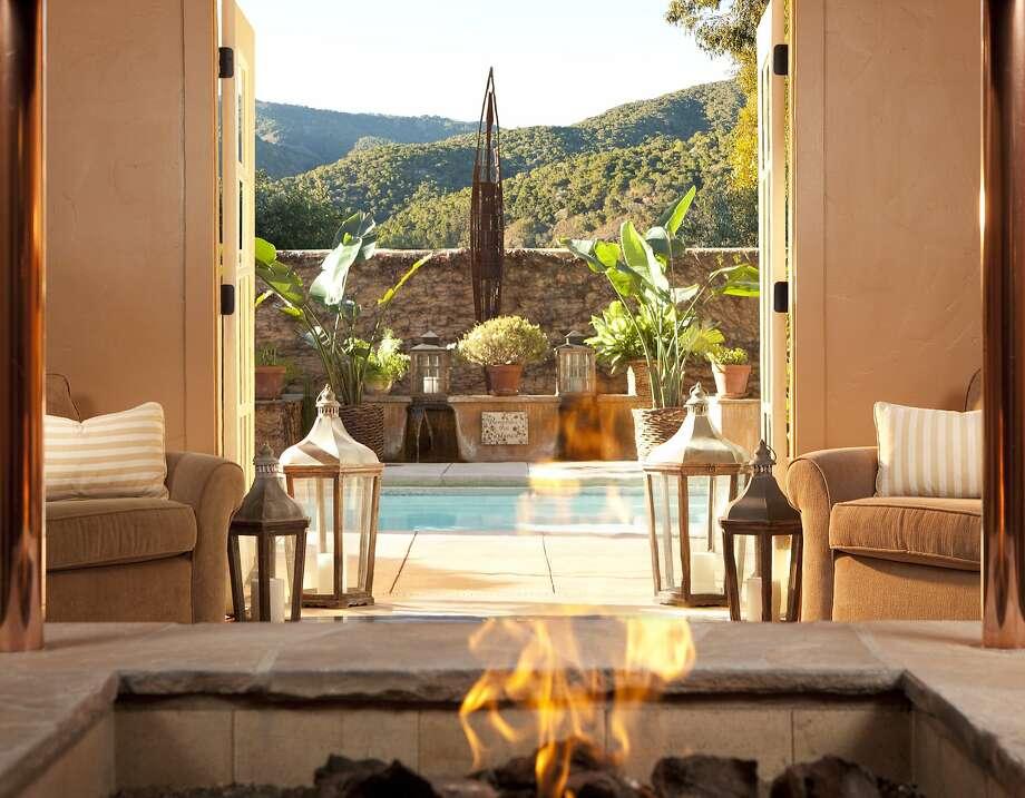 xxx The spa interior at the Bernardus Lodge. Photo: Courtesy Bernardus Lodge & Spa