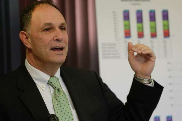 Don Levy of the Siena College Research Institute announced the results of a survey of business leaders statewide on what they expect for the upstate economy in 2013, Tuesday morning, Jan. 8, 2013, during a press conference at First Niagara Bank in Loudonville, N.Y. (Skip Dickstein/Times Union archive)
