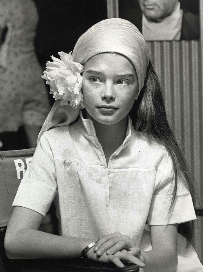 Brooke Shields as a child