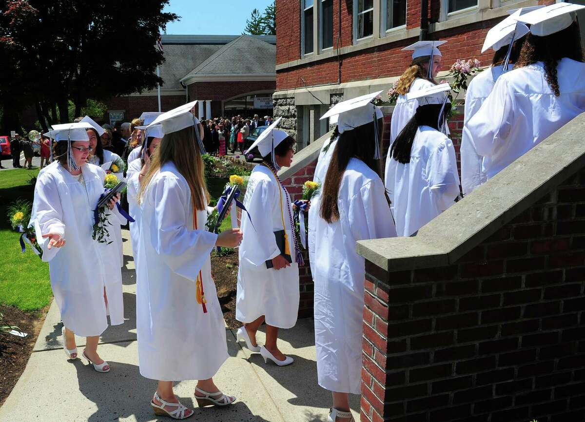 Lauralton Hall's Class of 2015 Commencement Exercises in Milford, Conn., on Saturday May 30, 2015.