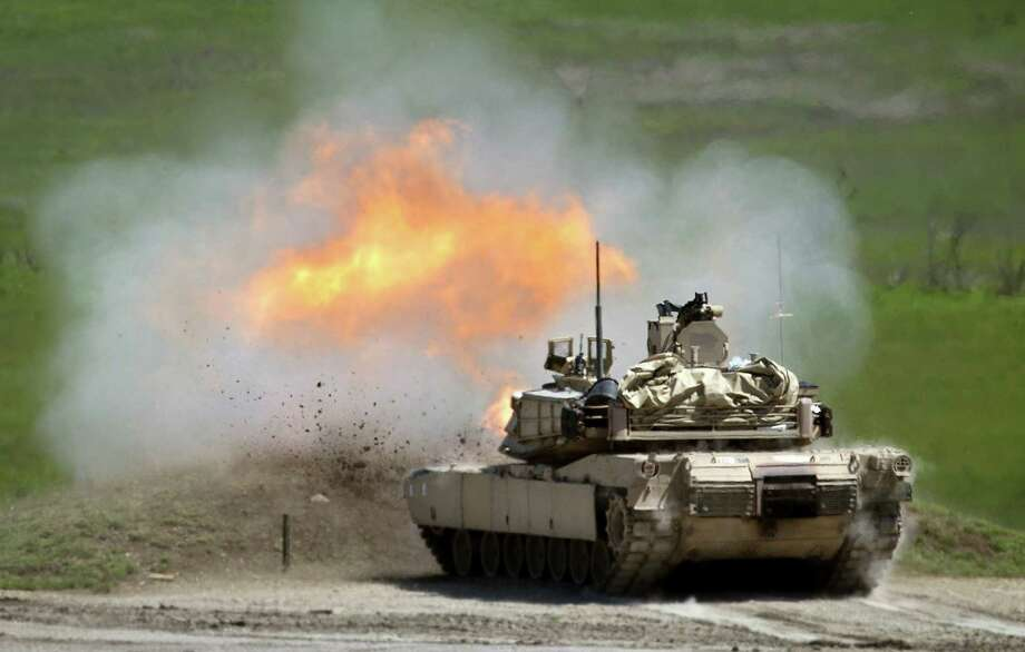 """Talking about training for conflict, Lt. Gen. Robert Brown of the Army's Combined Arms Center said: """"You hope it wouldn't be World War III, but you have to prepare for the worst."""" Photo: Keith Myers / McClatchy-Tribune News Service / Kansas City Star"""