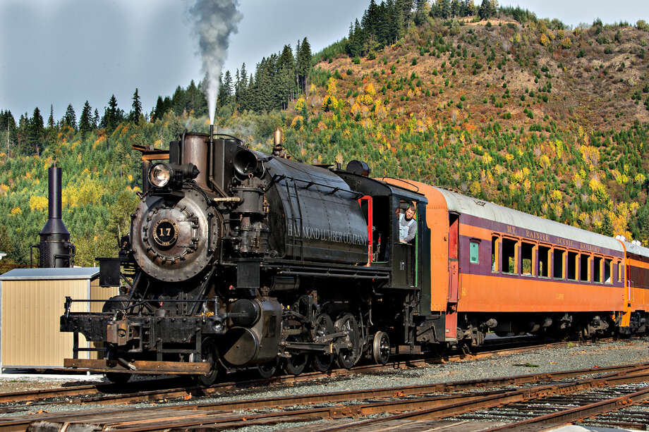 The Mount Rainier Scenic Railroad and Museum opened its 35th season May 30 in Elbe, Wash. Photo: Allens Photographic Mary Jo Allen, Courtesy Mt. Rainier Scenic Railroad And Museum / Allens Photographic