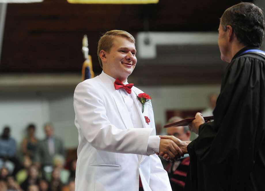 Fairfield Prep Graduation at Fairfield University's Alumni Hall in Fairfield, Conn. on Sunday, May 31, 2015. Photo: Brian A. Pounds / Connecticut Post