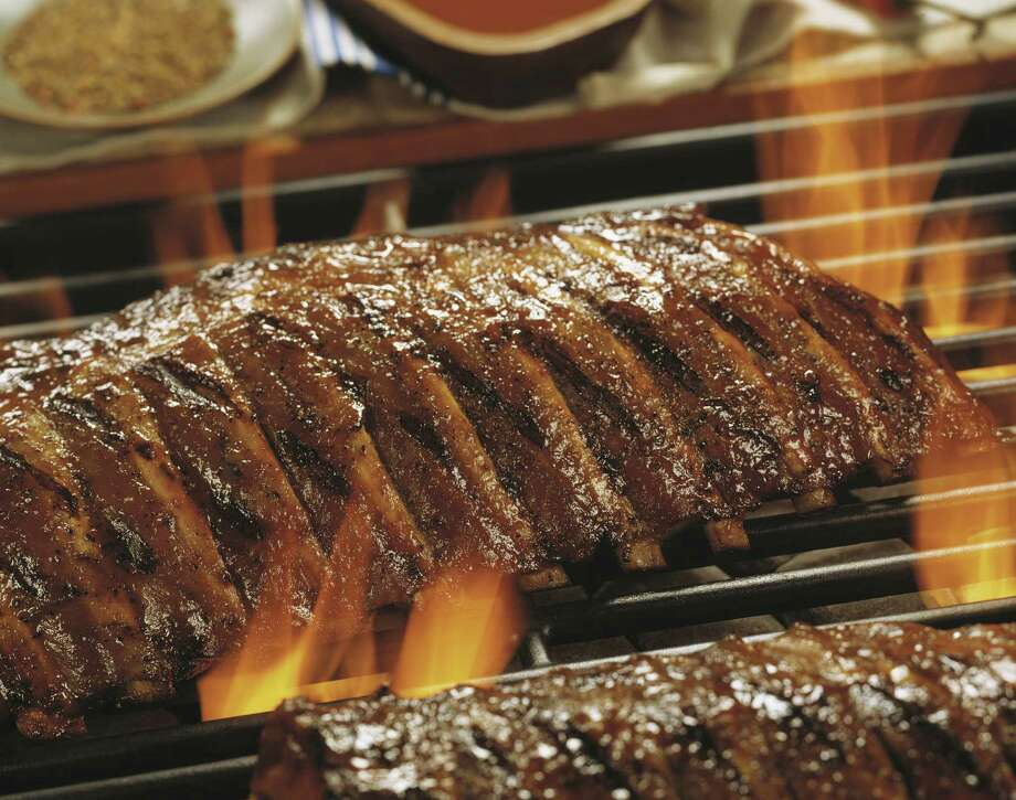 Korean Barbecue Ribs with Sweet & Sour Barbecue Sauce