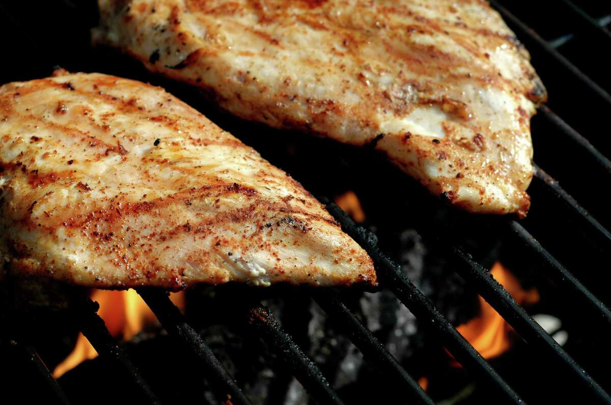 2. Grilled chicken and veggies is his go-to Leonard told GQ he opts for grilled chicken or fish with vegetables instead of beef or pork.