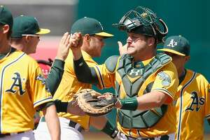 A's: Vogt has made himself into a potential All-Star - Photo
