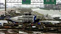 "In 2008, Hurricane Ike ravaged the city, leaving debris-covered roads in La Marque. Increased talk among scientists of moving into a possible ""quiet"" period concerns experts that people will be unprepared."