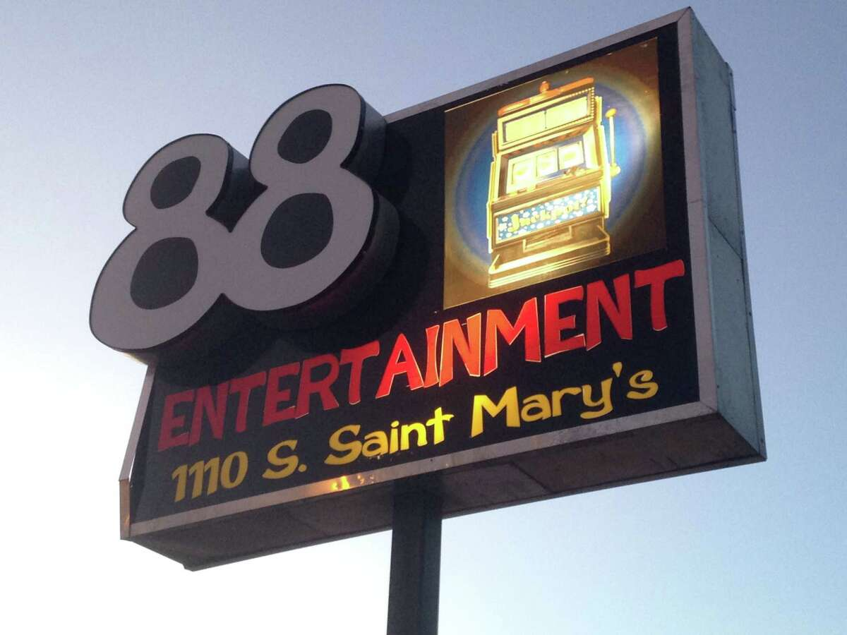 This is one of the 14 eight-liner establishments in Falfurrias that were raided by federal, state and local on Sunday, May 31, 2015. The U.S. Attorney's Office indicated the investigation involves various crimes.