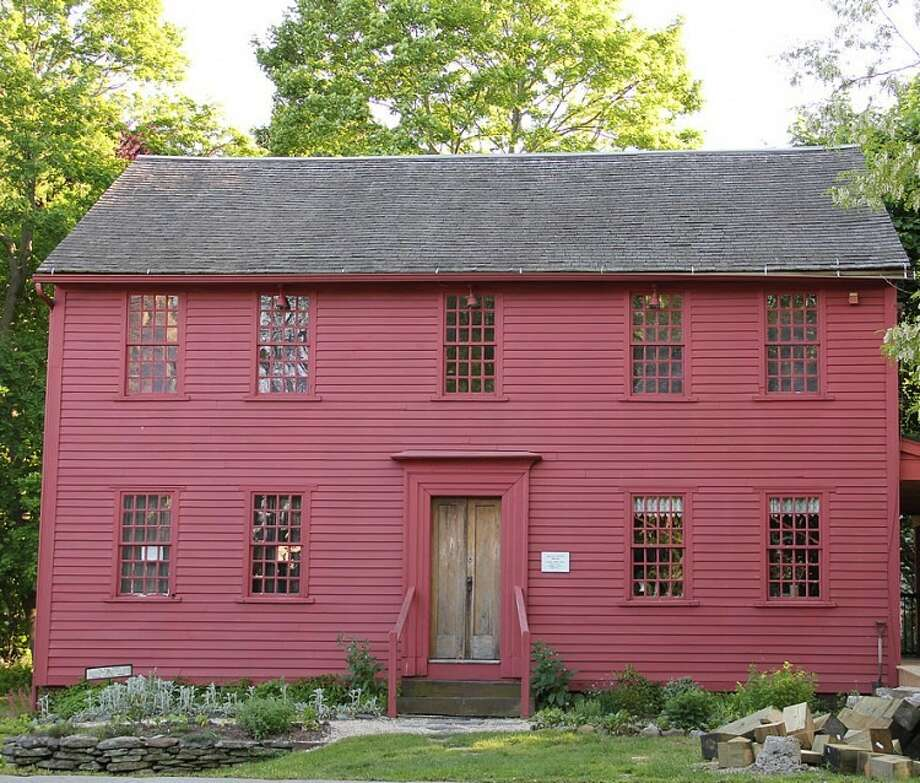 Bryan-Downs House, 34 Wharf Lane in Milford. Click through to see other haunted places in Connecticut.