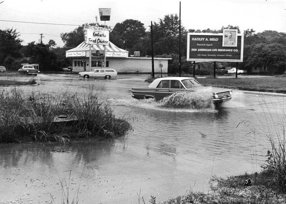 """Same old story at Phelan Blvd and 3300 Calder."" Enterprise file photo / ©2015 The Beaumont Enterprise/Jake Daniels"