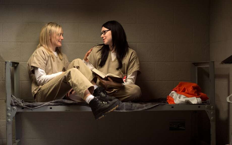 1. Piper Chapman (Taylor Schilling) and Alex Vause (Laura Prepon)Piper let her emotions get the better of her in Season 2 when she refused to testify against Alex's drug lord boss at Alex's insistence. Unfortunately, Alex had a change of heart and testified herself, which led to her immediate release from prison. Piper hardens herself after this, coldly trying to trade a new prisoner to Boo (Lea DeLaria) for a blanket. Alex, now in fear for her life, visits Piper one last time to tell her that she's breaking her parole and skipping town. Piper then sets Alex up to be caught by her P.O., leading to her being sent back to Litchfield.Also read: Laverne Cox poses nude for allure magazine Photo: JoJo Whilden