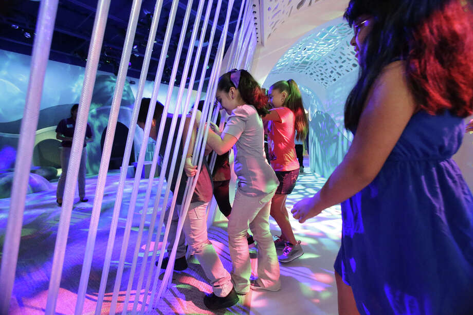 "During an early tour, elementary school students dive into the ""imagination area"" as the DoSeum prepares for its grand opening. A reader praises the museum and the effort it took to bring it to fruition. Photo: Tom Reel /San Antonio Express-News"