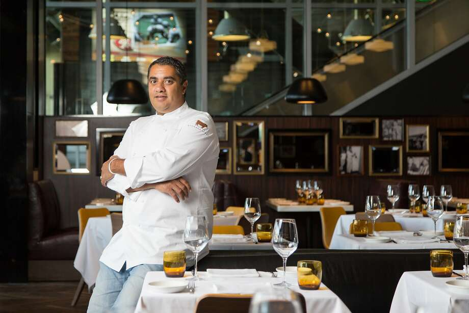 Michael Mina at the new restaurant Bourbon Steak & Pub at Levi's Stadium in Santa Clara, Calif., Monday, August 11, 2014. Photo: Jason Henry, Special To The Chronicle
