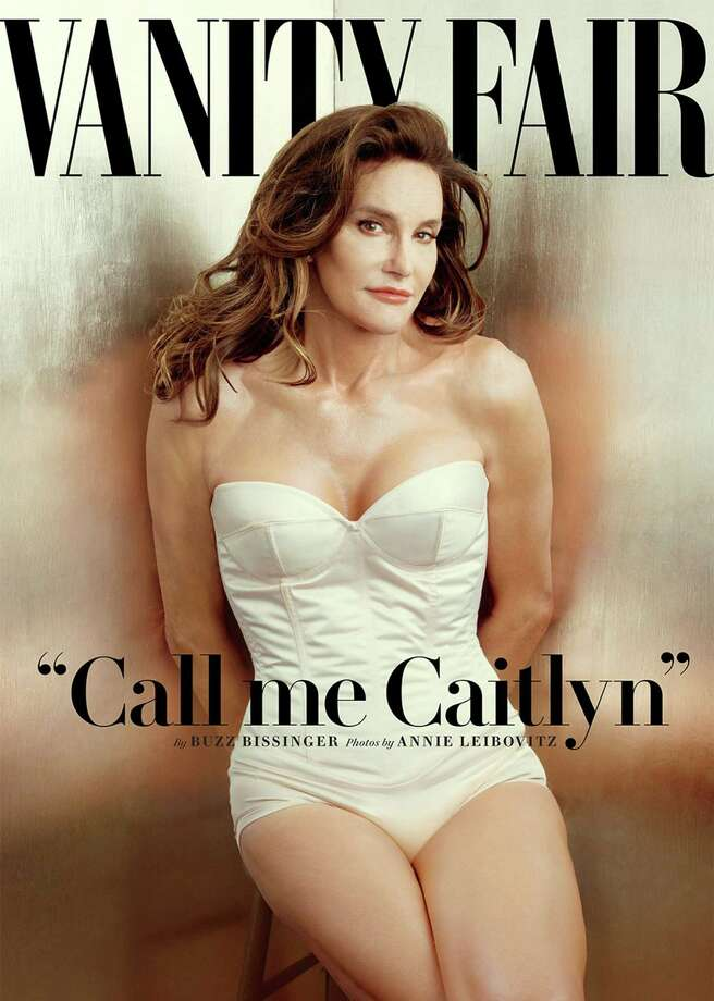 The July issue of Vanity Fair introduces the world to Caitlyn Jenner. Photo by Annie Leibovitz/ Vanity Fair. Photo: HANDOUT, STR / THE WASHINGTON POST