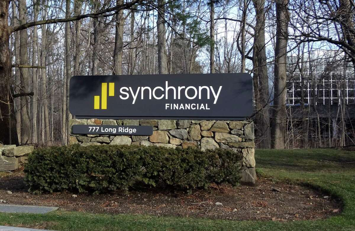 The headquarters of GE spinoff Synchrony Financial at 777 Long Ridge Rd. in Stamford.