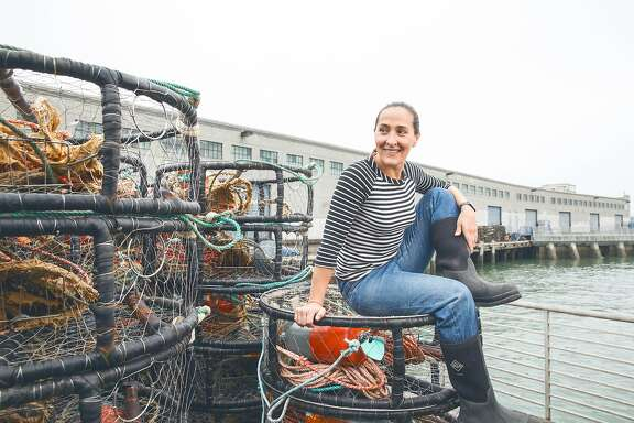 Chef Gabriela Camara who will be opening a restaurant in Hayes Valley is seen at sustainable seafood supplier, TwoXSea on Friday, May 29, 2015 in ,