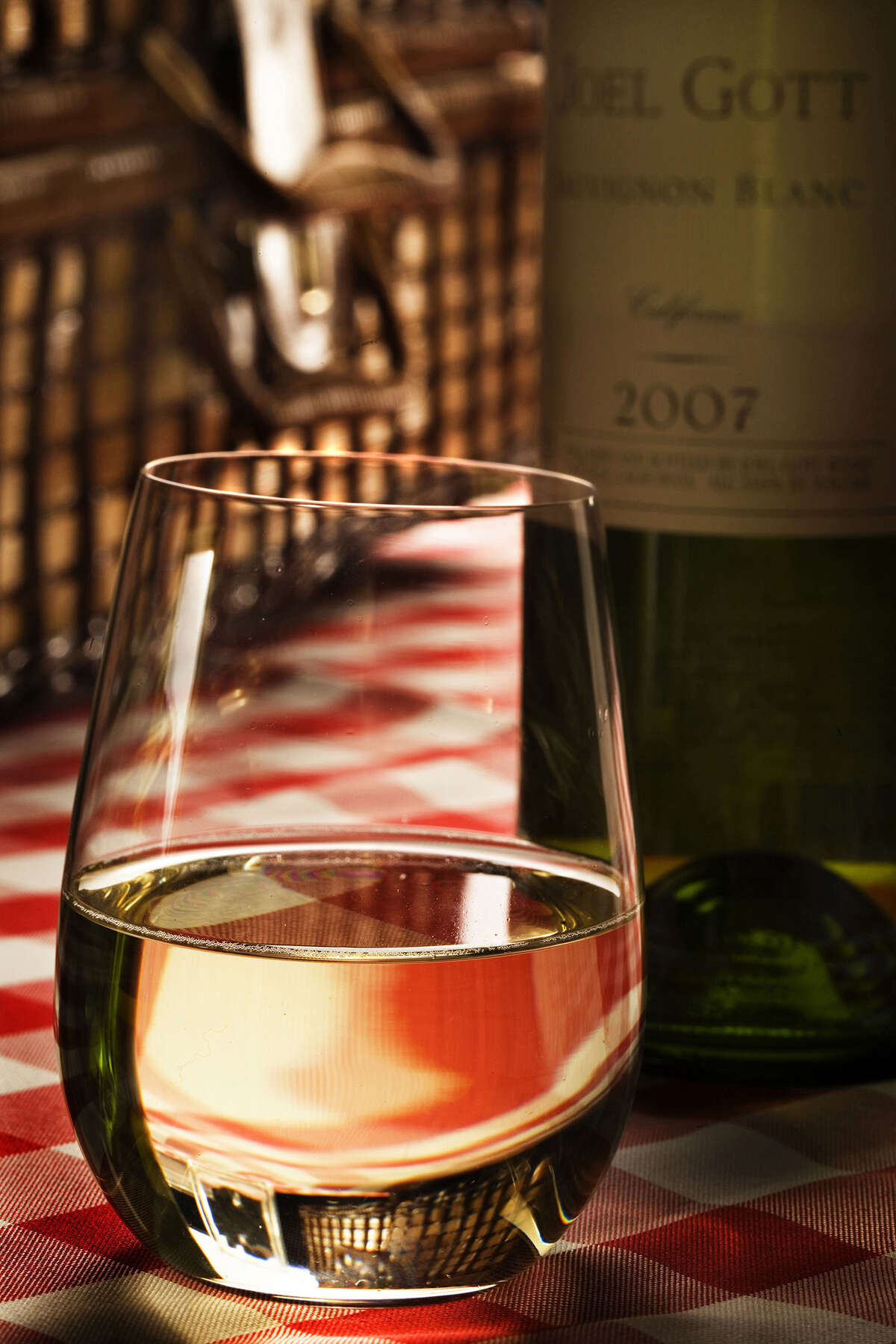 Nothing too expensive is necessary; but make sure to pick a wine of quality.