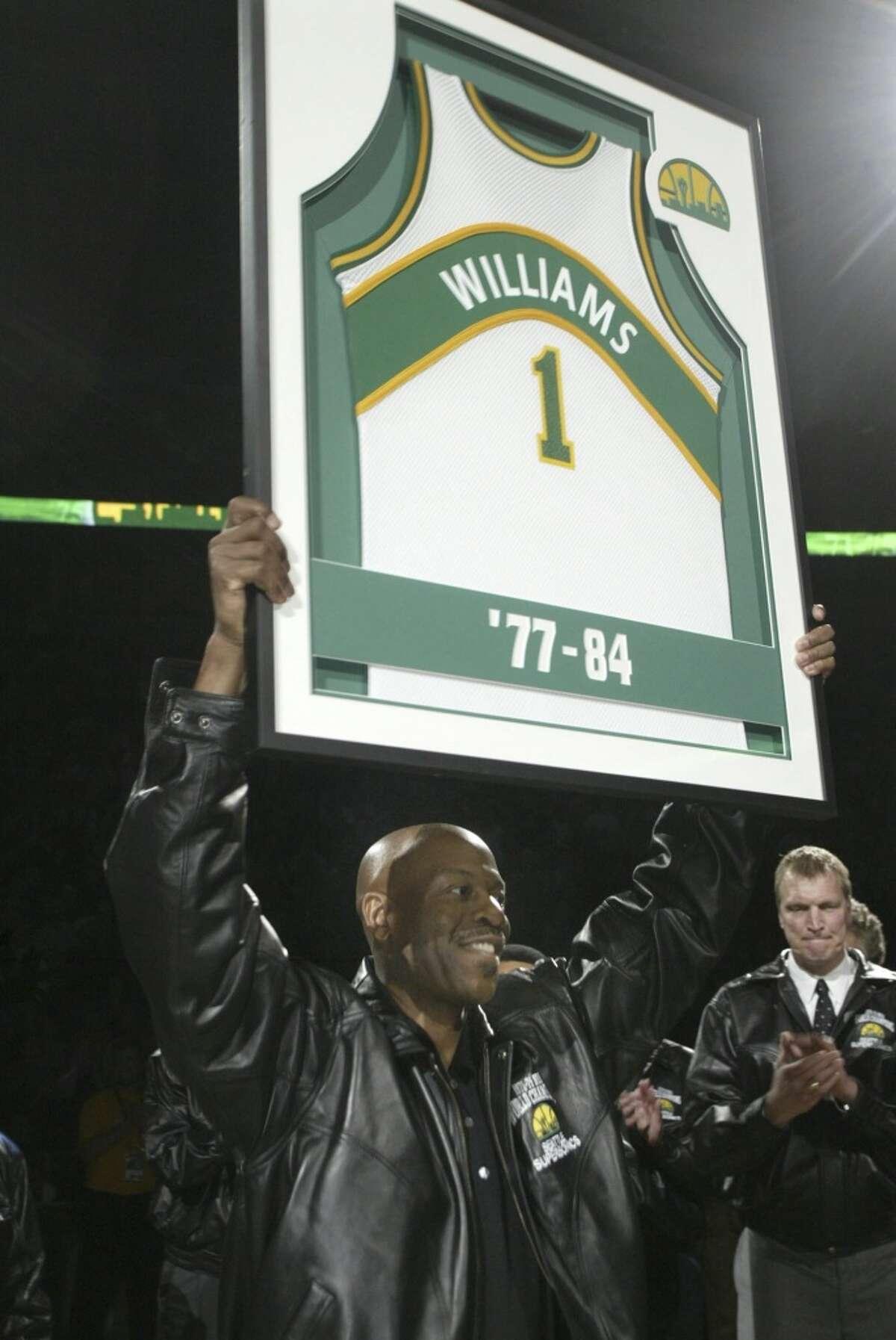 1: Sonics' Gus Williams