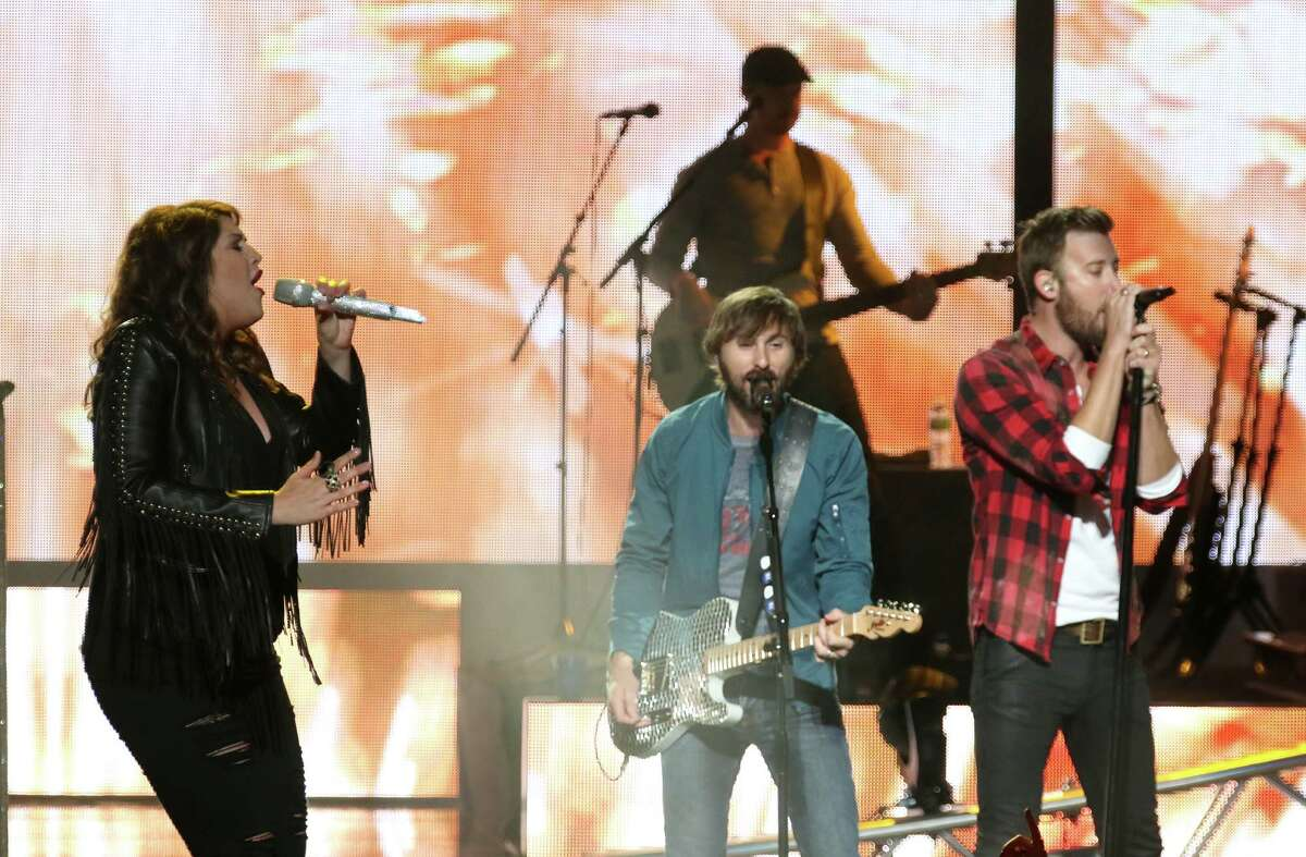 Lady Antebellum performs on opening night Sunday May 31, 2015 at Saratoga Performing Arts Center. They'll be coming back to SPAC this summer, with possible tickets under the County Megaticket package. (Ed Burke / Special to the Times Union)