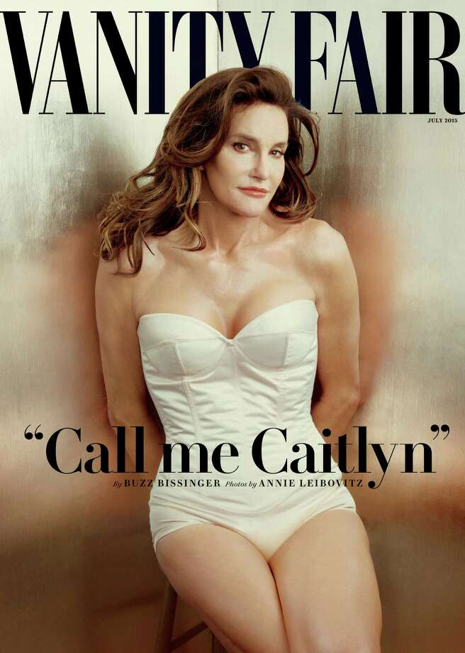 This photo taken by Annie Leibovitz exclusively for Vanity Fair shows the cover of the magazine's July 2015 issue featuring Bruce Jenner debuting as a transgender woman named Caitlyn Jenner. On the same day that the decorated Olympian reintroduced himself to the nation as Caitlyn Jenne, the state where Jenner grew up took a major step toward making it easier for transgender people to change their birth certificates. Photo: Annie Leibovitz, Annie Leibovitz/Vanity Fair Via / Associated Press