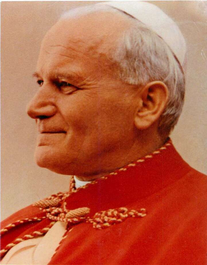The real Pope John Paul II. Photo: Contributed Photo / Connecticut Post Contributed