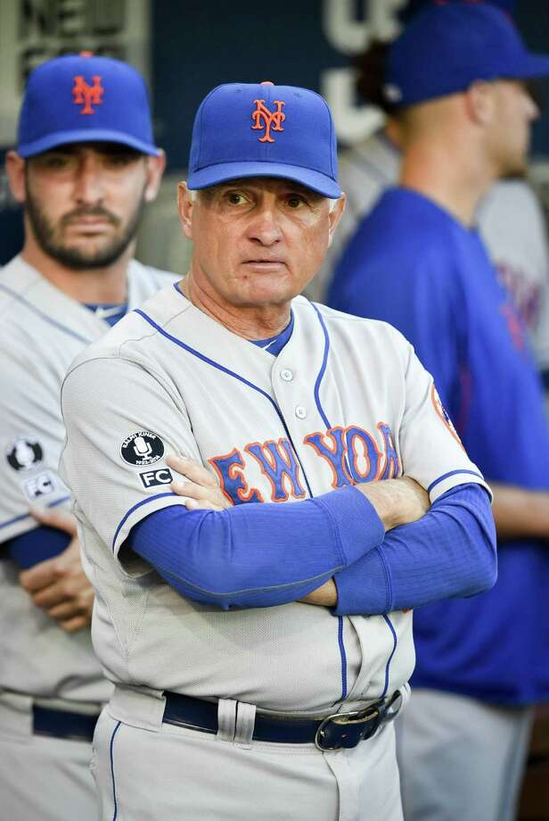 SAN DIEGO, CA - JULY 18:  Terry Collins #10 manager of the New York Mets looks on before a baseball game against the San Diego Padres at Petco Park July 18, 2014 in San Diego, California.  (Photo by Denis Poroy/Getty Images) ORG XMIT: 477586451 Photo: Denis Poroy / 2014 Getty Images