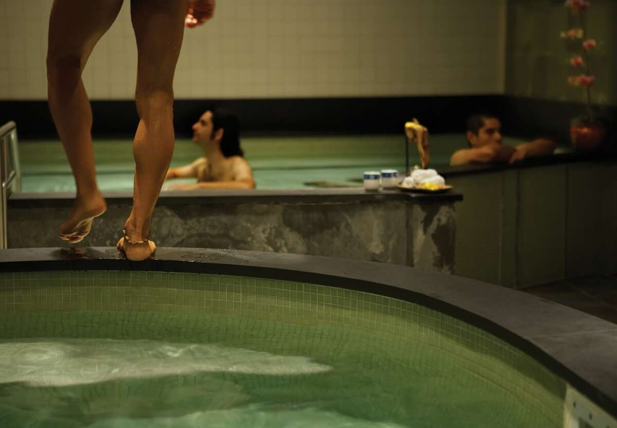Kabuki Springs and Spa 1750 Geary Blvd., San Francisco Relax like you're at a Japanese onsen at this spa tucked away on Geary. The communal baths are hot, relaxing, and nude-friendly. Book ahead at the spa and take note of the bathing schedule. Co-ed Tuesdays means bathing suits are required.