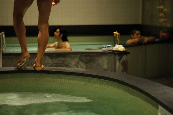 Soak in the pools at Kabuki Springs.  And then get a massage at this spa in Japantown.