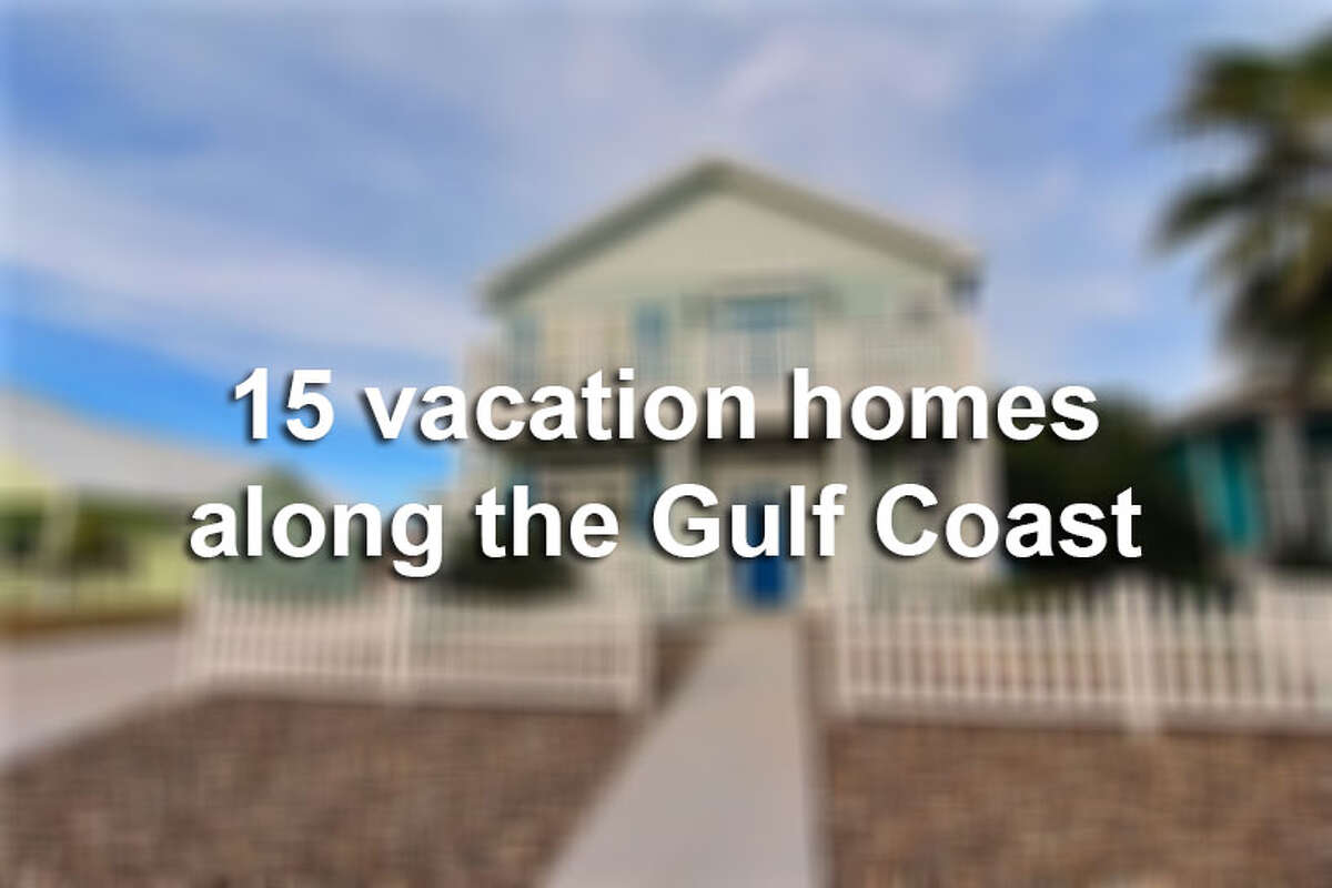 It's not a Texas summer until there is family or a beach involved. We've gathered 15 fun and luxurious vacation homes along Texas' Gulf Coast that are big enough to hold the whole family.