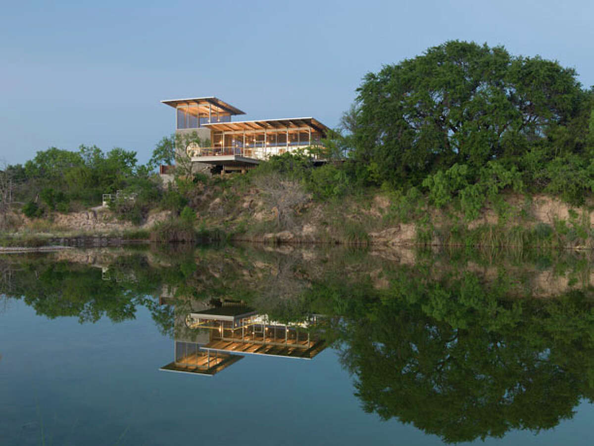 Austin's Locomotive Trailer Ranch by Andrew Hinman Architecture.