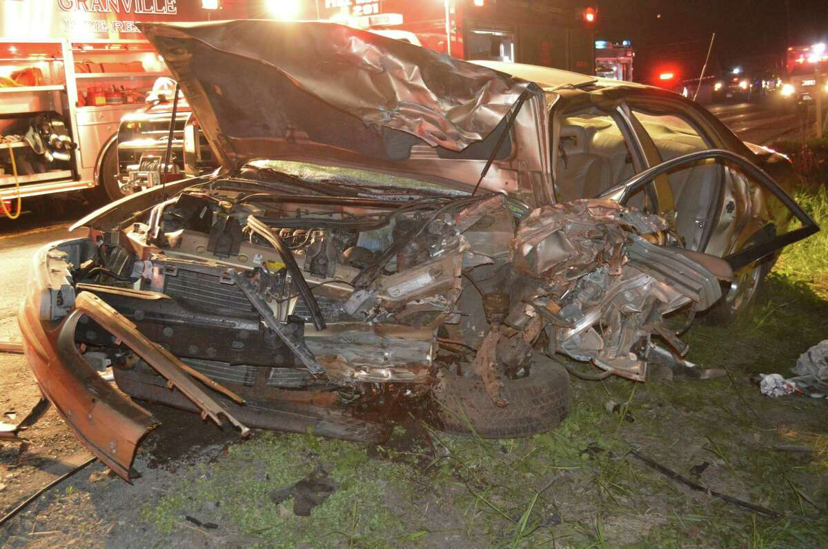 A woman was killed and another injured late Tuesday, May 26, 2015 night after a head-on crash on Route 22 just north of Mettowee Srreet in Granville, according to the Washington County Sheriff's Office.