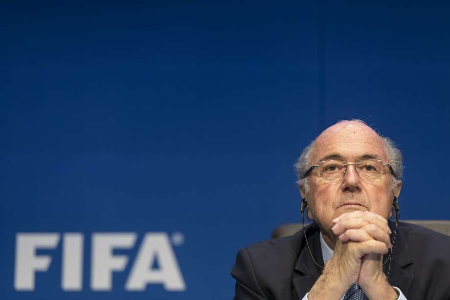 Sepp Blatter is leaving his post as head of soccer's governing body. Photo: Alessandro Della Bella