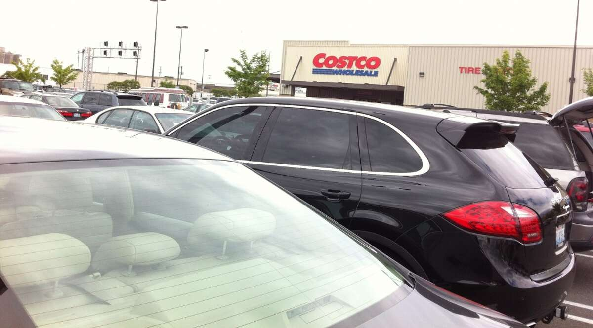 Hate: Parking on the weekend at Costco.