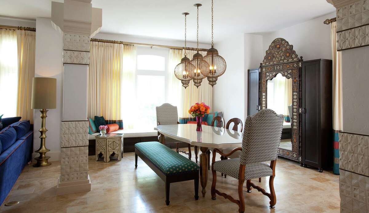 Moroccan design by Laura U Interiors.