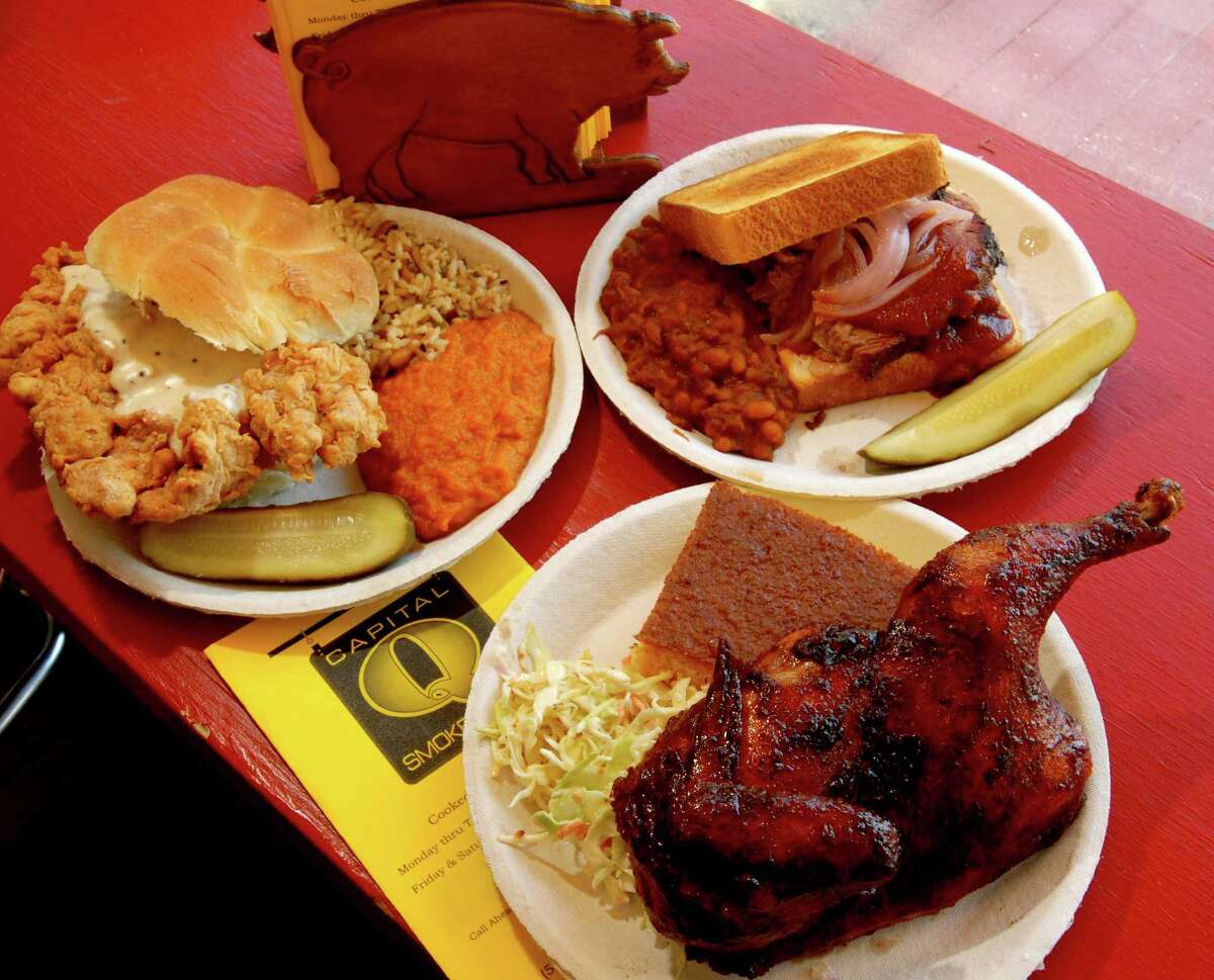 Capital Q Smokehouse in Albany. Visit their website.