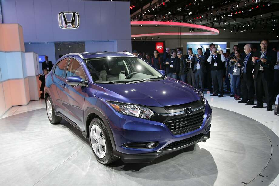 The Honda HR-V crossover is a popular addition to the line, selling more than 6,300 in its first two weeks and boosting results for the automaker. Photo: Jae C. Hong, Associated Press