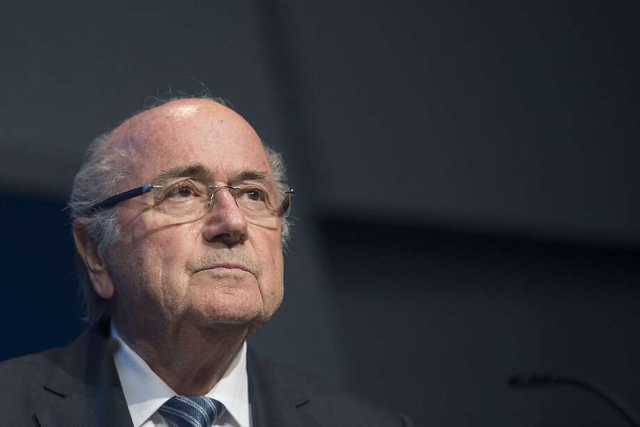 Sepp Blatter, the Swissman who has been FIFA president for 17 years, is resigning amid a U.S. probe of the world soccer governing body. Photo: Valeriano Di Domenico, AFP / Getty Images