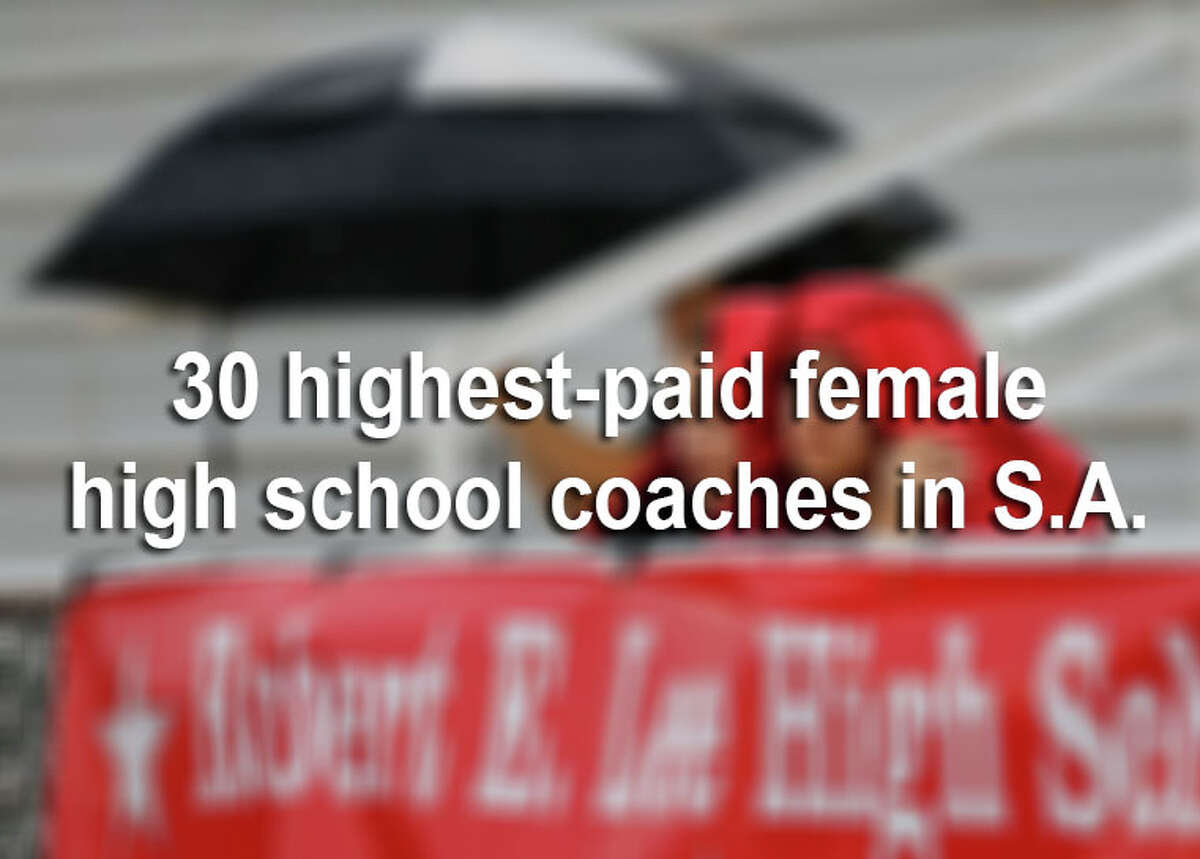 The San Antonio Express-News sifted through salary records for 615 head coaches in the area, and found that head coaches earned more than $39 million during the 2013-2014 school year. Click through the slideshow to see the 30 highest-paid female head coaches during that time period.