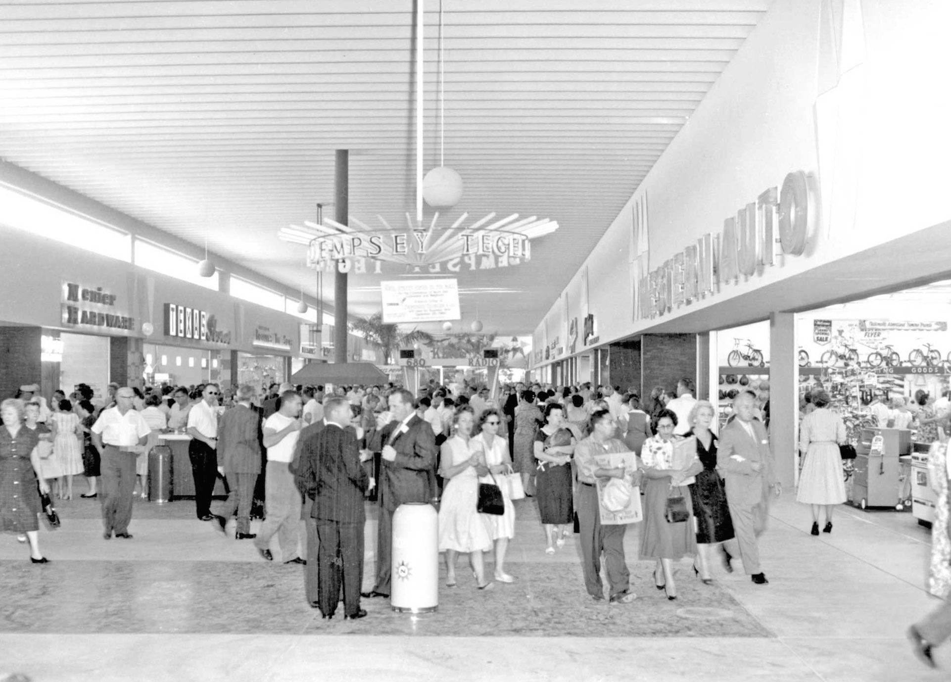 57 Years Ago North Star Mall Opened Its Doors To The