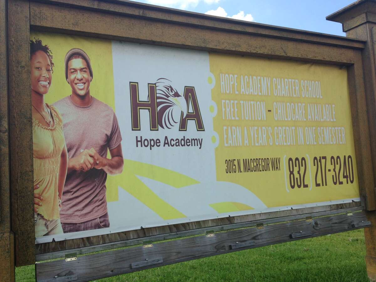 Houston ISD gave notice Tuesday that it plans to sever ties with Hope Academy charter school after an investigation revealed problems with grades and transcripts that kept 21 seniors from graduating on time.