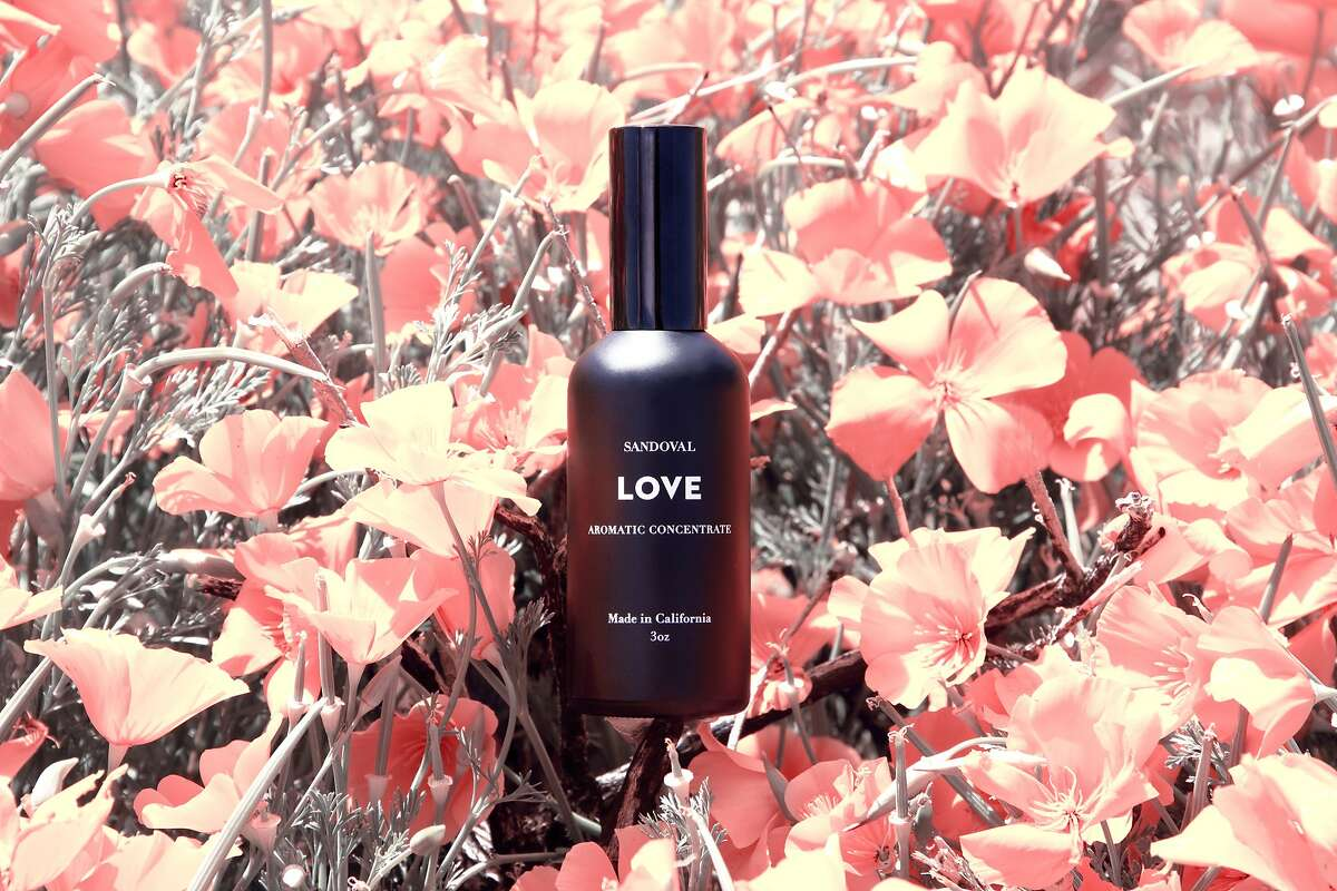 Sandoval aromatic Love concentrate will be one of many products available at West Coast Craft at Fort Mason Center, June 13-14. www.westcoastcraft.com