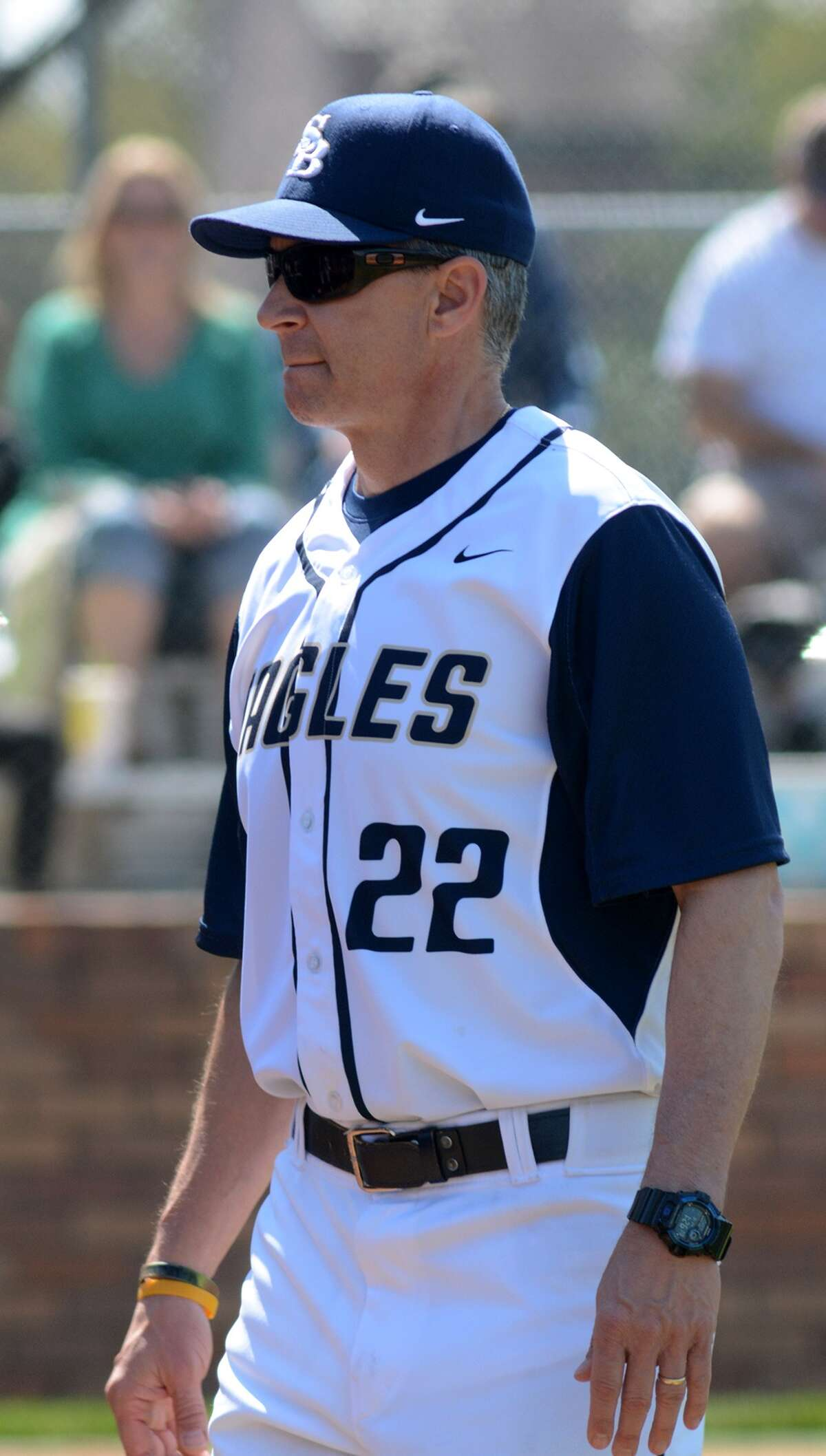 Second Baptist Head Coach Jeff Schroeder