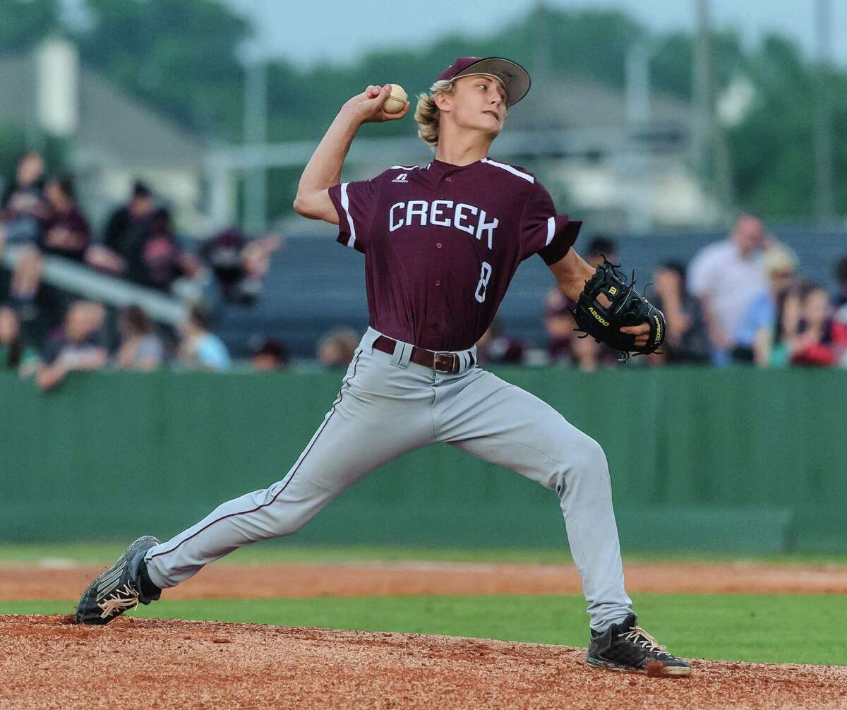Clear Creek pitcher Brandon Bolt and the Wildcats face Cy Ranch in the Region III-6A final this weekend.