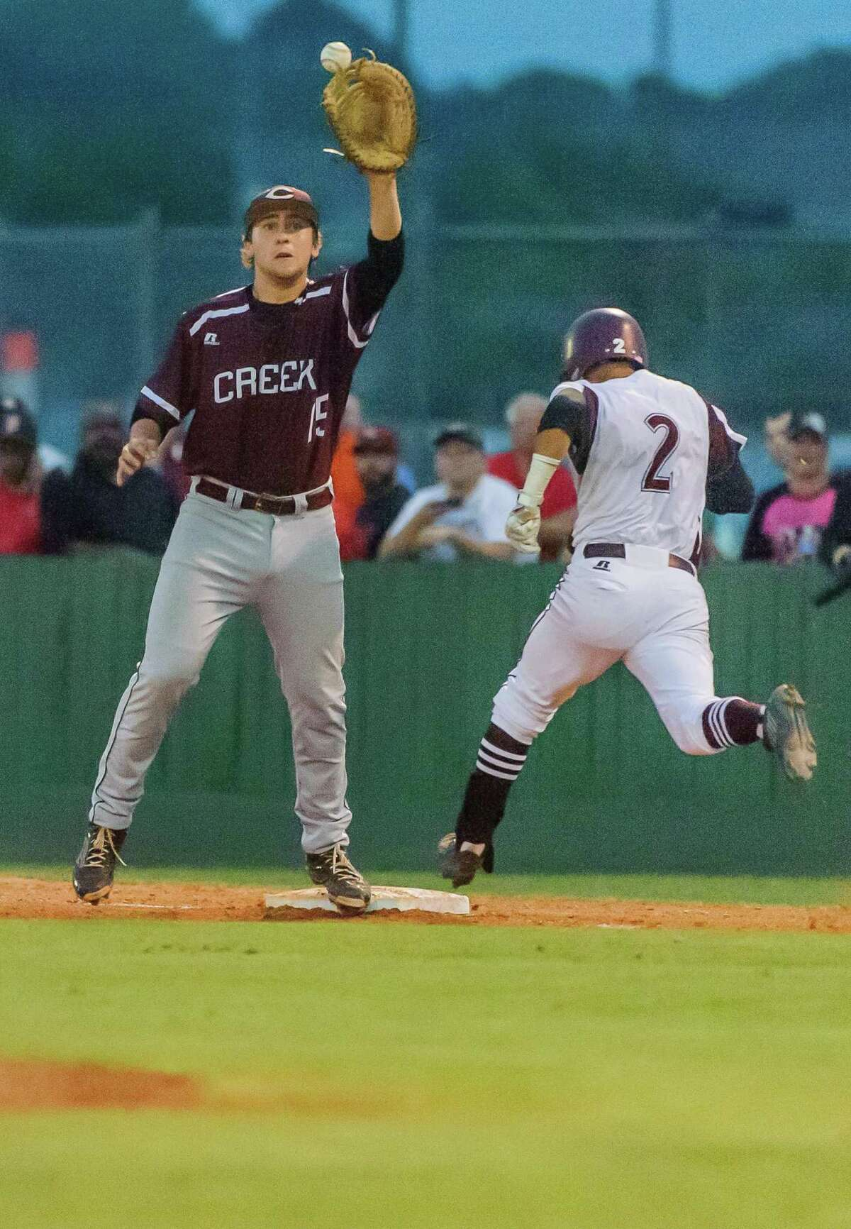 Clear Creek's Harrison Hill has been solid for the Wildcats during the playoffs.