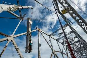 Artists can get pieces of Bay Bridge steel - Photo