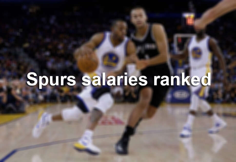 See which Spurs players earn the most (and least) per season.
