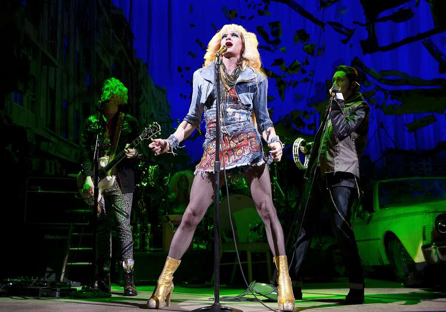 """FILE - This file image released by Boneau/Bryan-Brown shows Neil Patrick Harris in a scene from """"Hedwig and the Angry Inch,"""" at the Belasco Theatre in New York. """"Hedwig and the Angry Inch,"""" a cult off-Broadway hit, won eight Tony nominations on Tuesday, April 29, 2014. (AP Photo/Boneau/Bryan-Brown, Joan Marcus, File) Photo: Joan Marcus, Associated Press"""