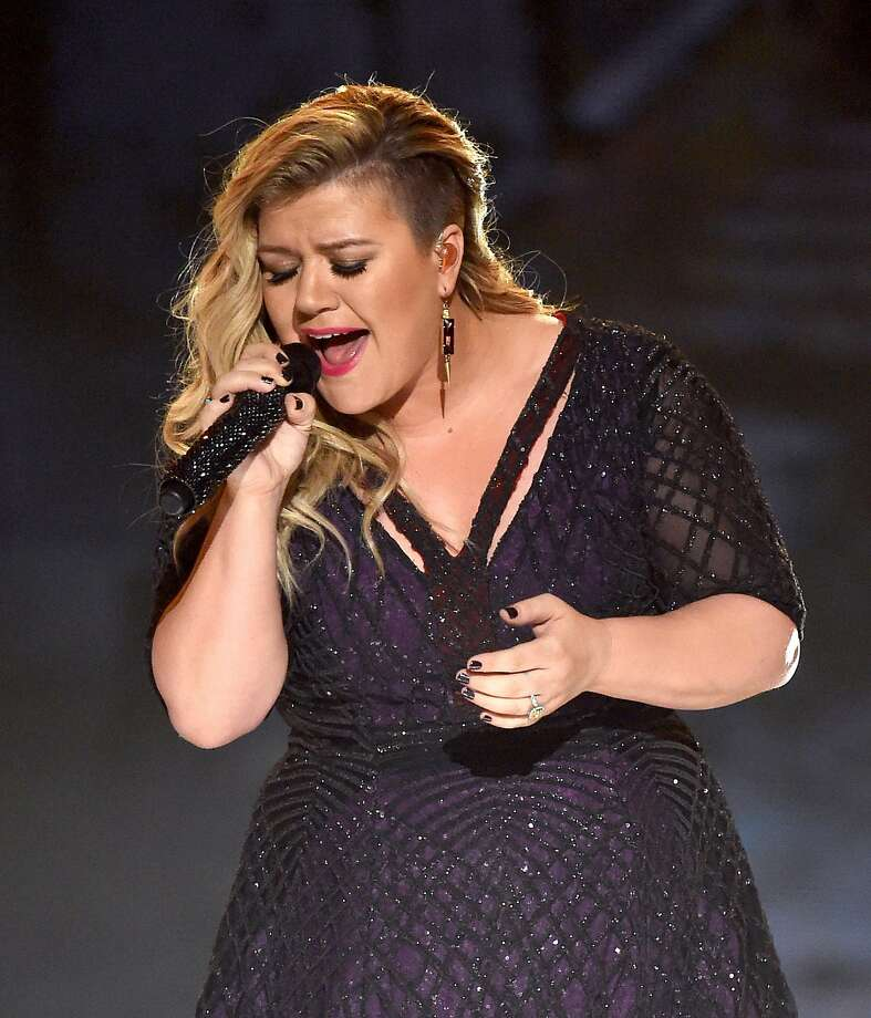 LAS VEGAS, NV - MAY 17: Recording artist Kelly Clarkson performs onstage during the 2015 Billboard Music Awards at MGM Grand Garden Arena on May 17, 2015 in Las Vegas, Nevada.  (Photo by Ethan Miller/Getty Images) Photo: Ethan Miller, Getty Images