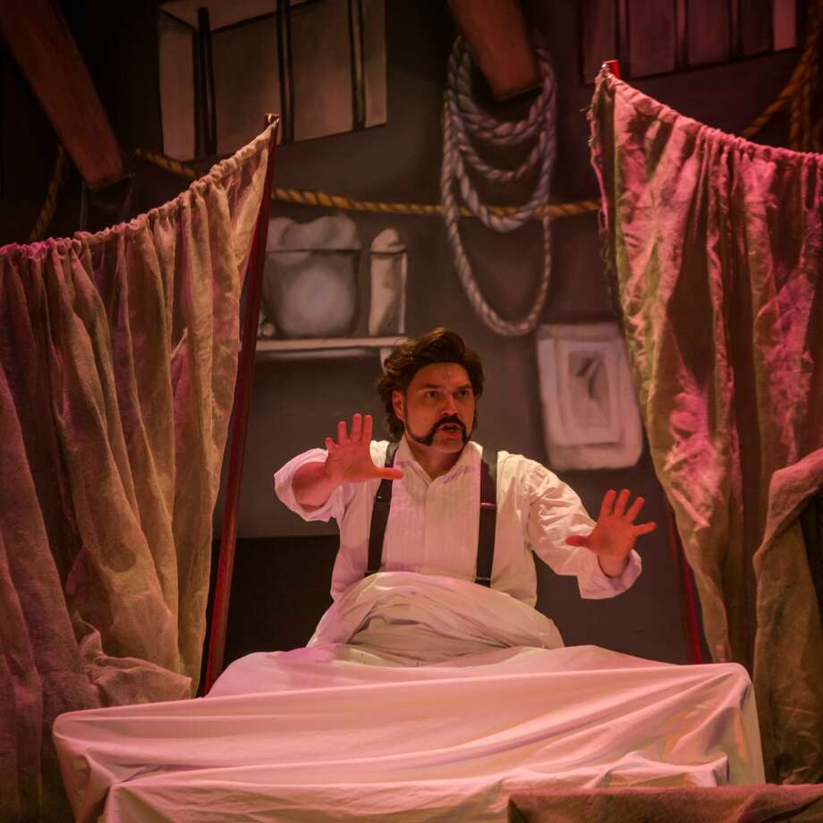 """""""The Mystery of Edwin Drood"""" is one of four shows staged on the Russell Hill Rogers stage of The Playhouse San Antonio that will be honored during the Alamo Theatre Arts Council's Globe Awards. Photo: Courtesy Siggi Ragnar"""