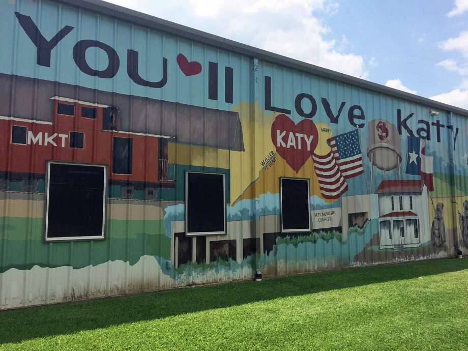 Katy Heritage Museum houses relics from Katy's past, and its exterior bears a coloful mural. Also on-site: historic homes. Photo: Jody Schmal